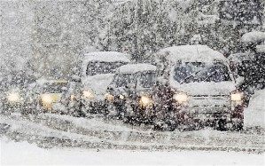 A recent photograph of the chaos snow can cause in England SOURCE: http://www.telegraph.co.uk/topics/weather/8183533/Snow-Britain-wakes-to-sub-zero-temperatures-as-big-freeze-returns-with-a-vengeance.html